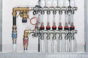 Монтаж теплого водяного пола в помещении